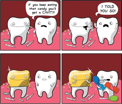 how to get rid of a cavity without dentist