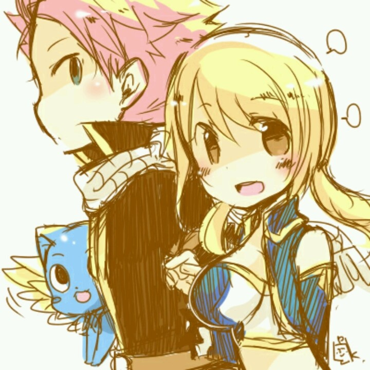 Lucy And Natsu Fairy Tail Pinterest