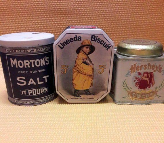 Vintage Nabisco Tin by Bristol Ware Small Vintage Cookie Tin