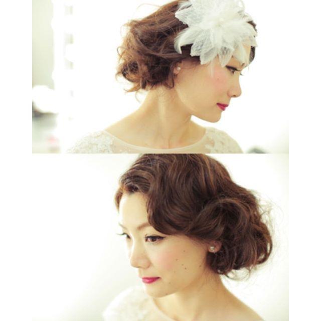 【ヘアスタイル(髪型)】結婚式にオススメ☆フィンガーウェーブ☆ヘアスタイル画像集(100枚以上)の画像   Marry Jocee