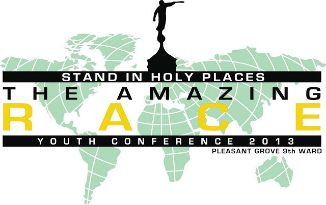 Sisters in Zion: The Amazing Race - Utah Valley Edition--Youth Conference idea