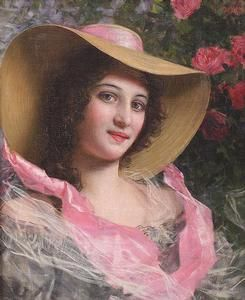 ▴ Artistic Accessories ▴ clothes, jewelry, hats in art - Gaetano Bellei