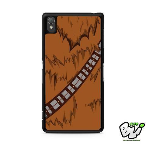 Brown Body Chewbacca Star Wars Sony Experia Z3,Z4,Z5,C3,C4,E4,M4,T3 Case,Sony Z3,Z4,Z5 MINI Compact Case