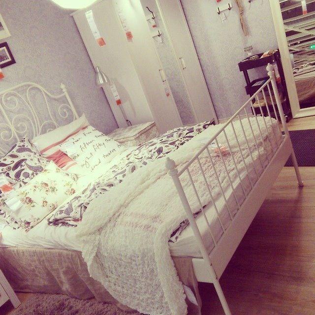 262 best bedroom images on Pinterest Backdrop ideas, Bed room and - schlafzimmer landhausstil ikea