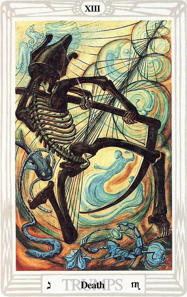 XIII - La Mort - Tarot Thoth Par Aleister Crowley