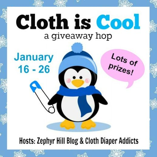 Bloggers: join this FREE cloth diaper giveaway event in January!