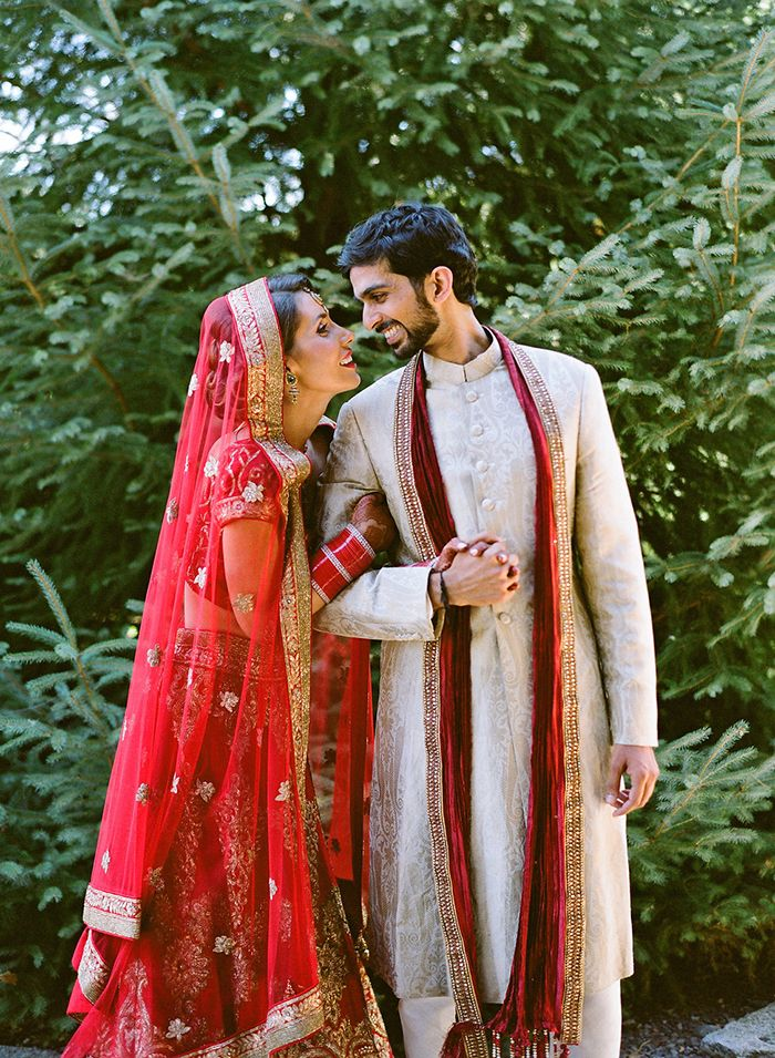 Bold Outdoor Indian Wedding - #greece #intimate #outdoorwedding