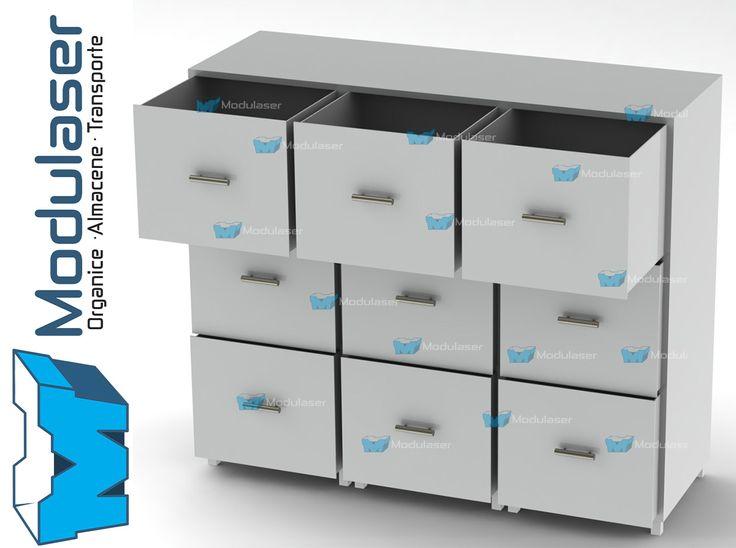 Armario metálico tipo archivador con cajones, ideal para organizar, almacenar y clasificar tus archivos, productos y mercancías eficientemente. Fabricamos de acuerdo a las necesidades y características requeridas por nuestros clientes. Variedad en tamaños, diseños y colores.Te brindamos asesoría personalizada, Te esperamos! #Modulaser ☎4145213 (Bogotá 🇨🇴) 📲318 4320023 📧servicliente@modulaser.co 🖥️www.modulaser.co  🚛📦Despachos a nivel nacional✈️⛴️ Exportaciones.