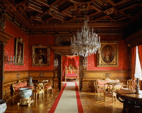 Castello Di Miramare Trieste French Interiors French