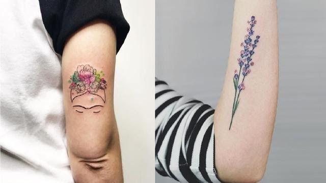 Fantastis 22 Gambar Tato Simple Tangan 7 Potret Tato Cantik Di Tubuh Wanita Bikin Tak Bosan Stiker Tattoo Mini Anti Air Di 2020 Tato Cantik Fake Tattoos Tato Flash