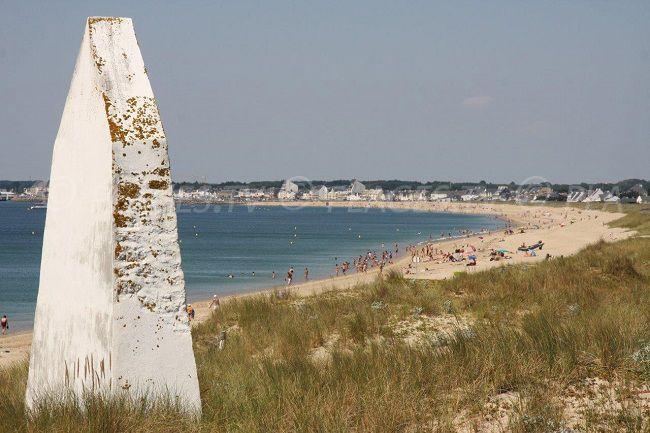 La Turballe: mer amer et plage. Loire-Atlantique. Bretagne