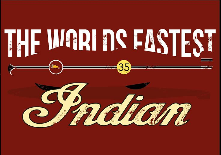 The World's Fastest Indian poster by Jack Haynes