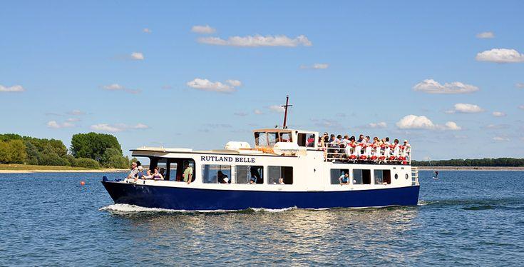 Take trip around Rutland Water on the Rutland Belle