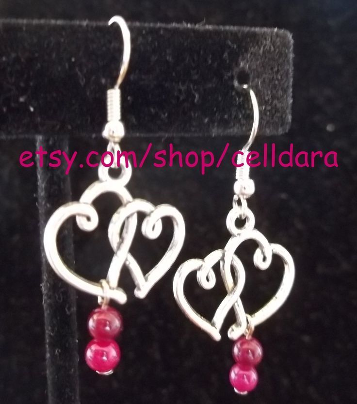 Sweet Love Earrings by CellDara on Etsy