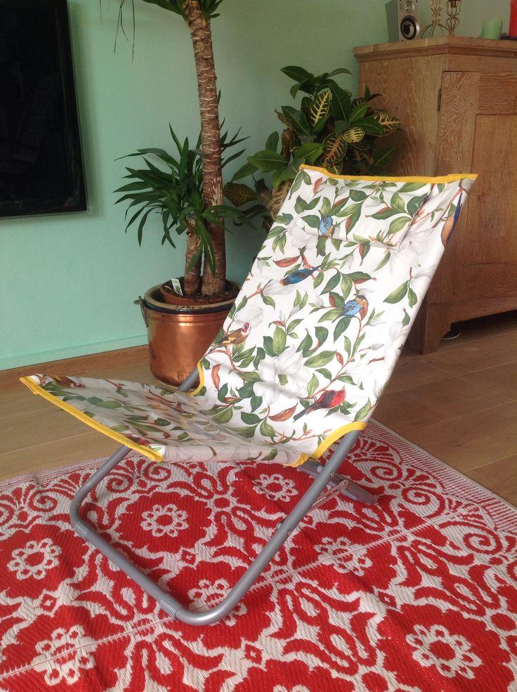 Beachchair tablecloth