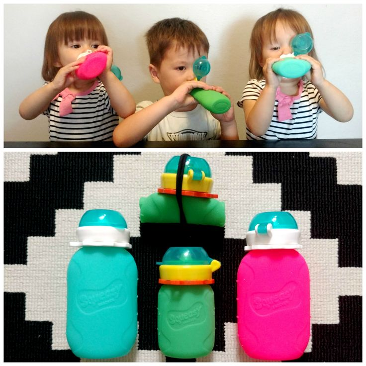 Win a 3-pack of the amazing @squeasygear silicone food pouches in my $300 value jackpot #giveaway!! Available in 3.5oz, 6oz, and 16oz, they have removable no-spill inserts that work so well you can fill them with liquids or purees for a no-mess snack! They're top-rack dishwasher safe and also self-standing, meaning filling your squeasy is super easy. We LOVE these and think you will too!