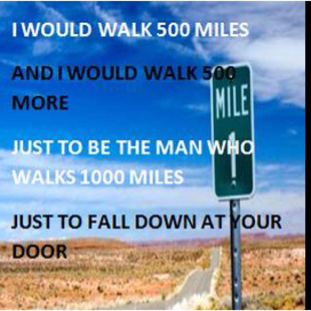 Less Than Jake - I Would Walk 500 Miles Lyrics   MetroLyrics