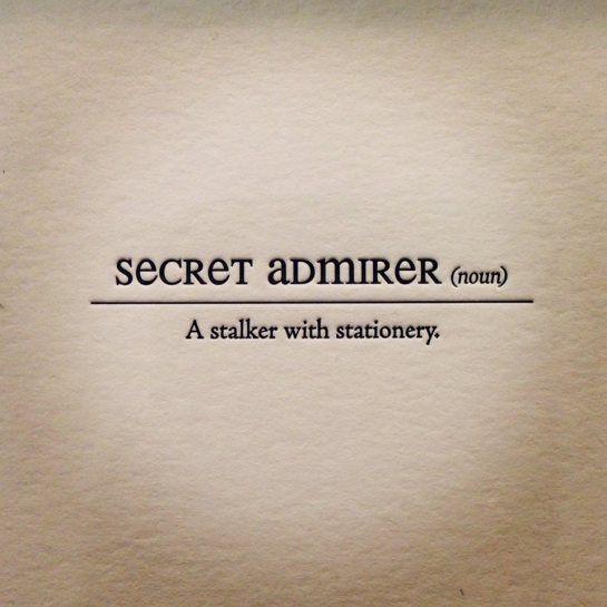 Secret Admirer Quotes. QuotesGram