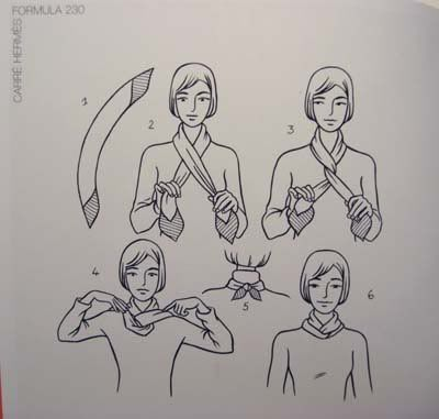 Hermes Scarf Lovers' Kama Sutra -- Illustrated Edition!!! - PurseForum