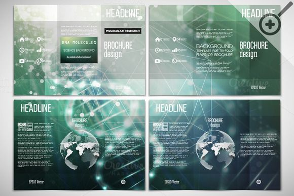60 best science brochure or flyer templates images on for Science brochure template
