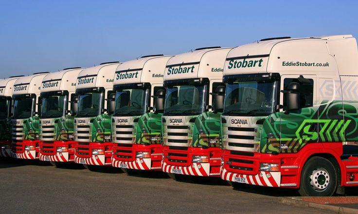 Stobart Scania Line up