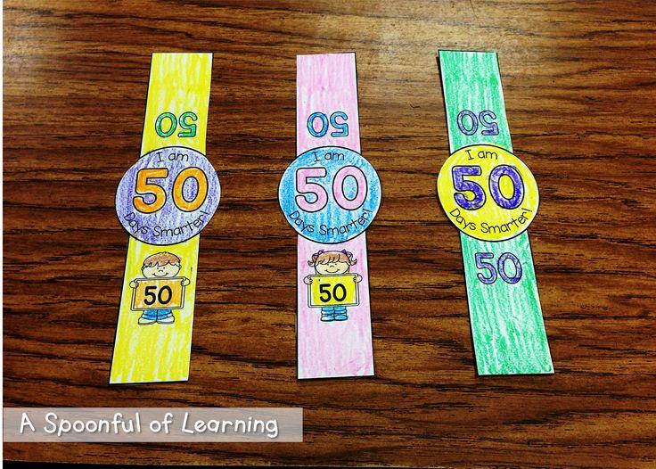 50th Day of School Bracelets! FREE!