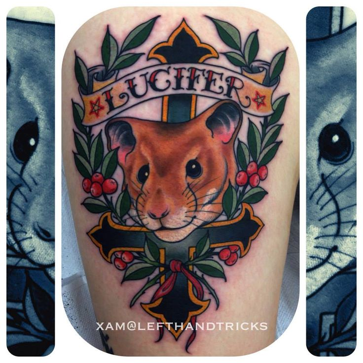17 best images about hamsters tattoos ideas on pinterest rocket tattoo hamsters and tattoo roses. Black Bedroom Furniture Sets. Home Design Ideas
