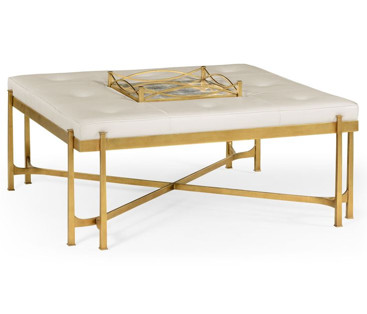 17 Best Images About White And Gold Coffee Tables On