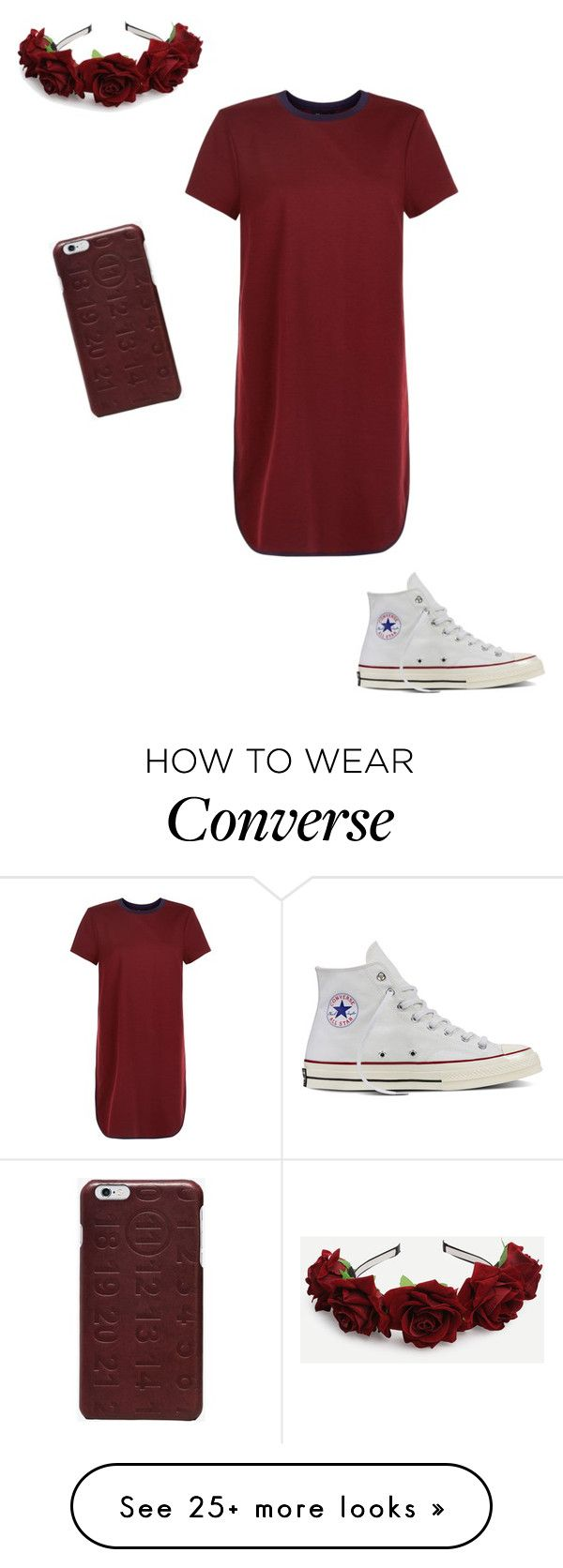 """""""Untitled #142"""" by jmaq22 on Polyvore featuring New Look, Converse and Maison Margiela"""