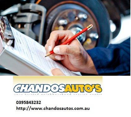 If you are looking for a Roadworthy certificate Cheltenham, Melbourne and want to find someone who can do the job, that has integrity, is trustworthy - you must come to Chandos Auto's. We offer all type of automotive services at very competitive price rate.  #RoadworthyCertificateCheltenham