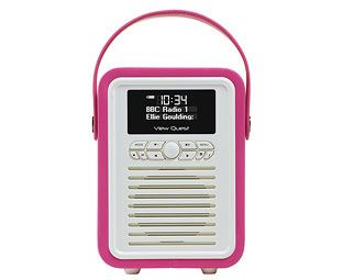Expert Verdict Retro Mini Portable DAB Radio, Hot Pink We've chosen this radio as much for its gorgeous, petite design and colours as for its genuinely-excellent DAB and FM reception. This portable radio doubles as a bedside clock radio, although it's far http://www.MightGet.com/march-2017-1/expert-verdict-retro-mini-portable-dab-radio-hot-pink.asp