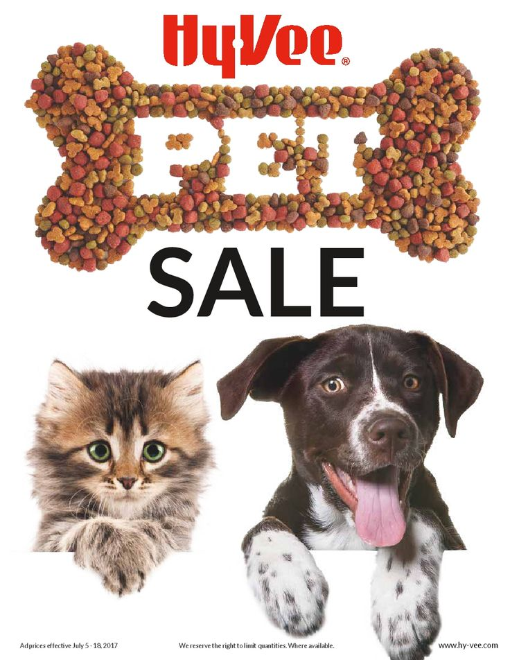HyVee Pet Sale Ad July 5 - 18, 2017 - http://www.olcatalog.com/grocery/hyvee-saving.html