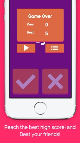 How to play Kids Maths Quiz - You have only one second to choose correct answer - Reach the best high score! - Beat your friends!