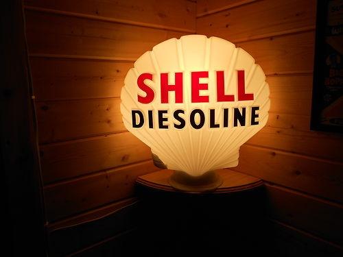 petrol pump globe