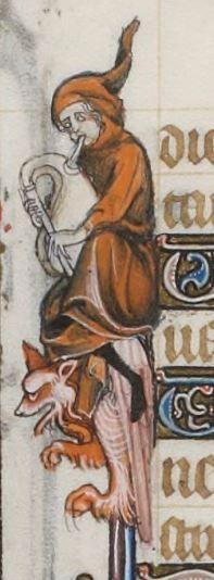 Breviarium ad usum fratrum Predicatorum, dit Bréviaire de Belleville. Bréviaire de Belleville, vol. I (partie hiver)  Date d'édition :  1323-1326  Latin 10483  Folio 24v