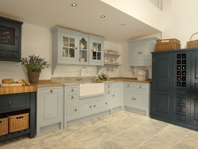 photo hand painted kitchen - Hand Painted Kitchen Cabinets
