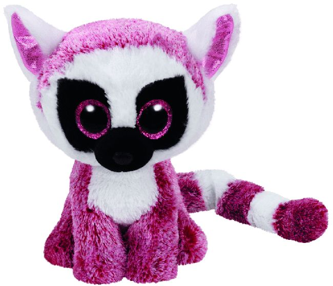 Beanie Boos Australia - LeeAnn the Pink Lemur (regular) - Regular Boos - All Products