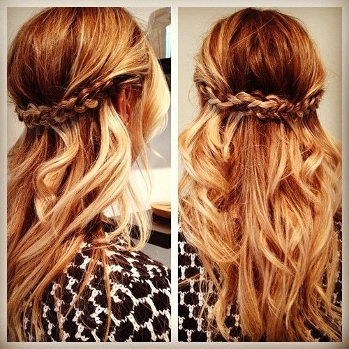 10 Awesome Half Up Half Down Hairstyles 2015