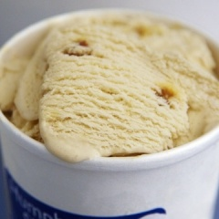 Elvis (The Fat Years) Peanut Butter Ice Cream Recipe from Humphry Slocombe