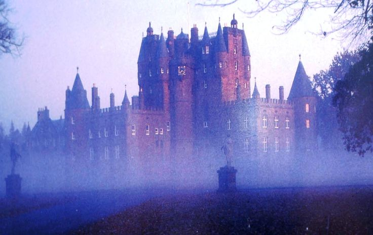 Glamis Castle in Angus, Scotland, is one of Britain's most haunted castles.
