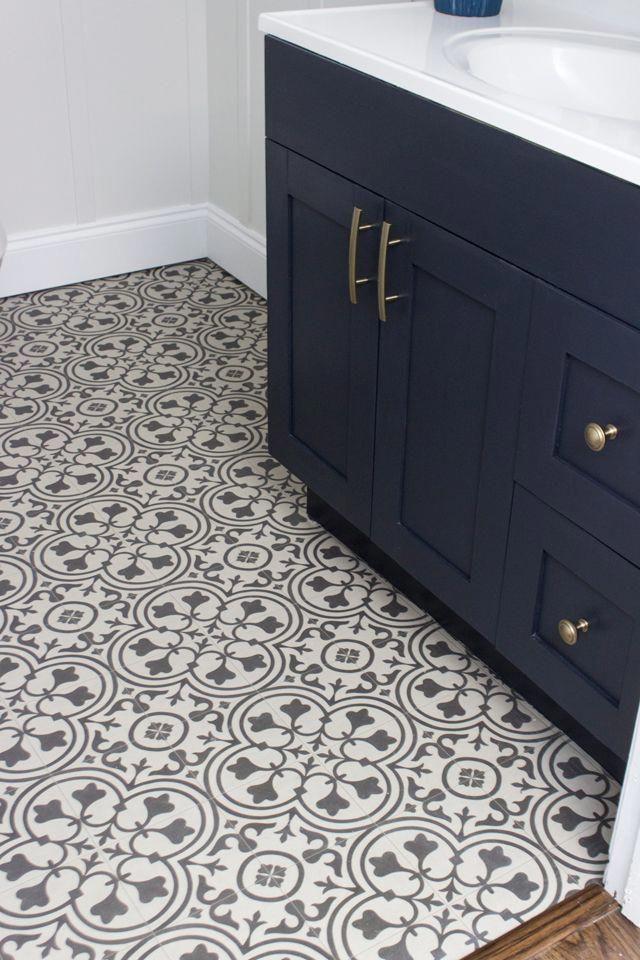 Imitates The Look Of Encaustic Tile