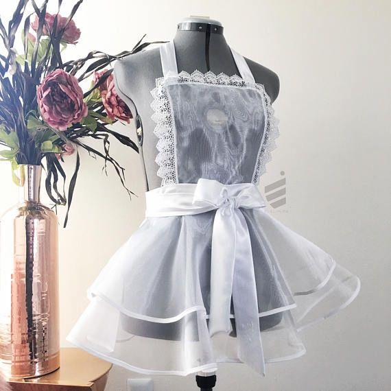 Lingerie Bridal Shower Gift Sexy Apron Bridal Lingerie