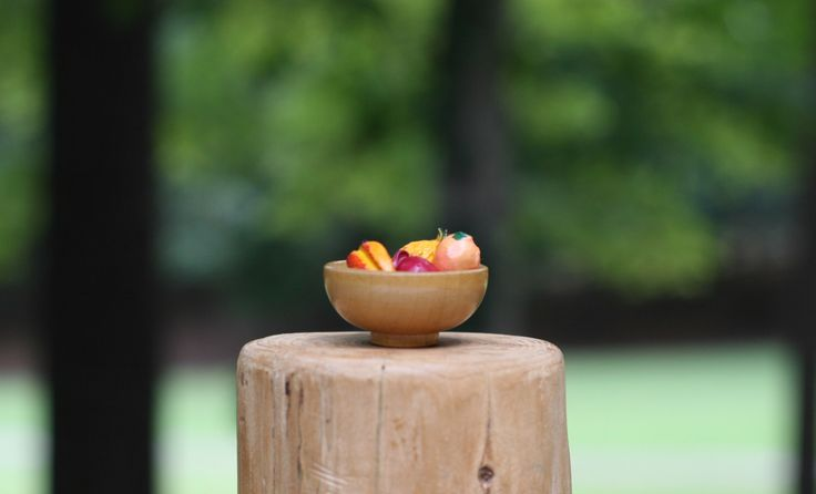 A personal favorite from my Etsy shop https://www.etsy.com/listing/249171103/tiny-vintage-dollhouse-wooden-fruit-bowl