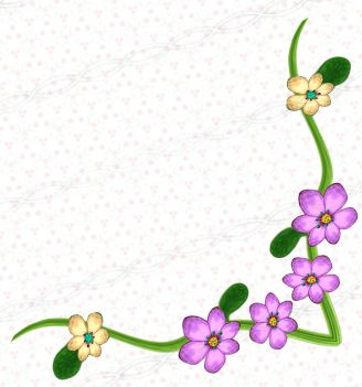 63 best floral corner borders images on pinterest clip art pink flower doodle corner digital decoration drawing for graphic design invitation card party ccuart Image collections