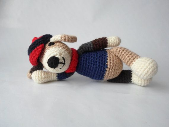 Dog Amigurumi Crochet Toy Animal by GamaAtelier on Etsy