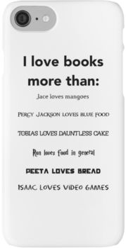 Book Lover Phone Case iPhone 7 Cases