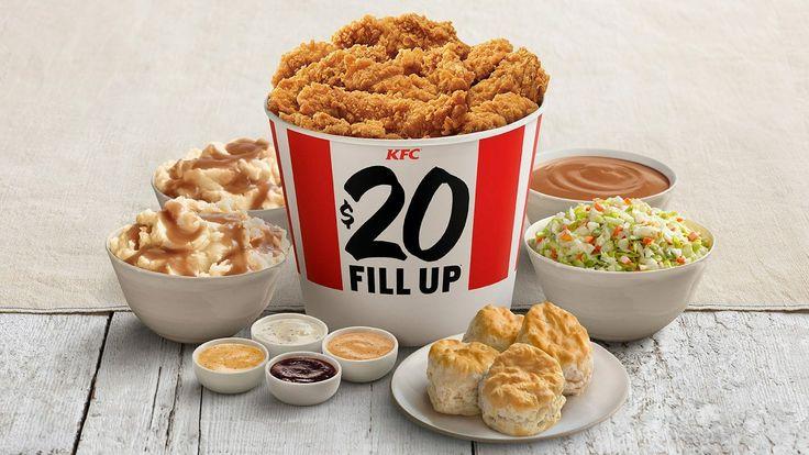 Chicken Bucket Kfc Menu With Prices in 2020 | Chicken ...