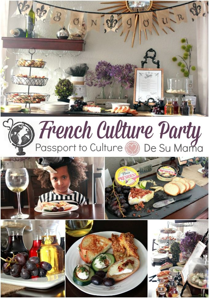 Cultural Activities for Kids featuring France