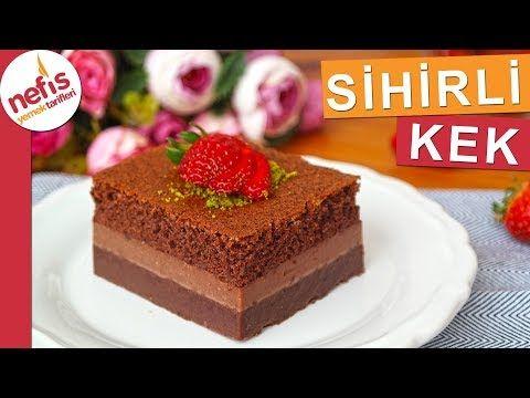 3 Katlı Sihirli Kek Nasıl Yapılır? (videolu) - Nefis Yemek Tarifleri