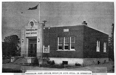 Thessalon Post Office, Circa 1950